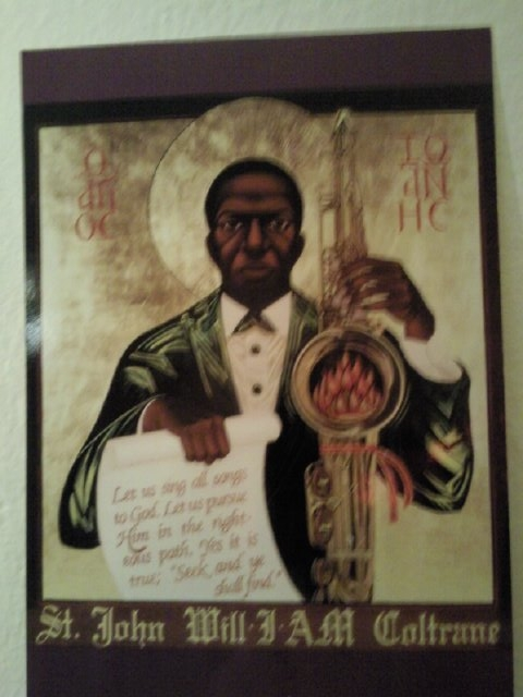 St John The Divine Sound Baptist, Iconographer Rev Mark C. Dukes, A.O.C. Copyright 1987