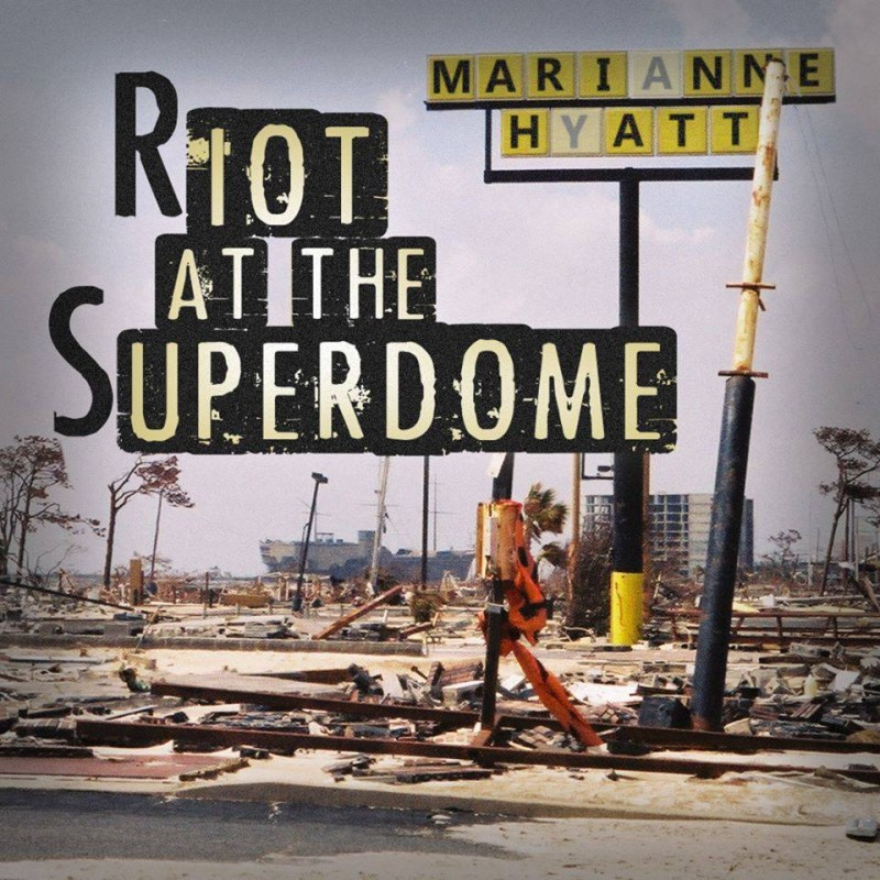 Riot at the Superdome - photo c/o the mighty Mick Denny