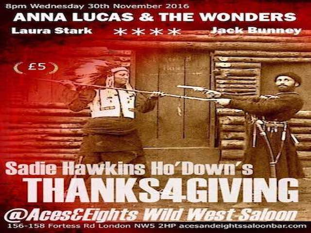 ANNA LUCAS & THE WONDER 4 Thanksgiving