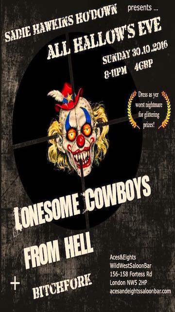 LONESOME COWBOYS FROM HELL - Halloween 2016 (appropriately)