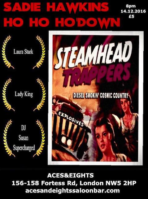 STEAMHEAD TRAPPERS for Xmas