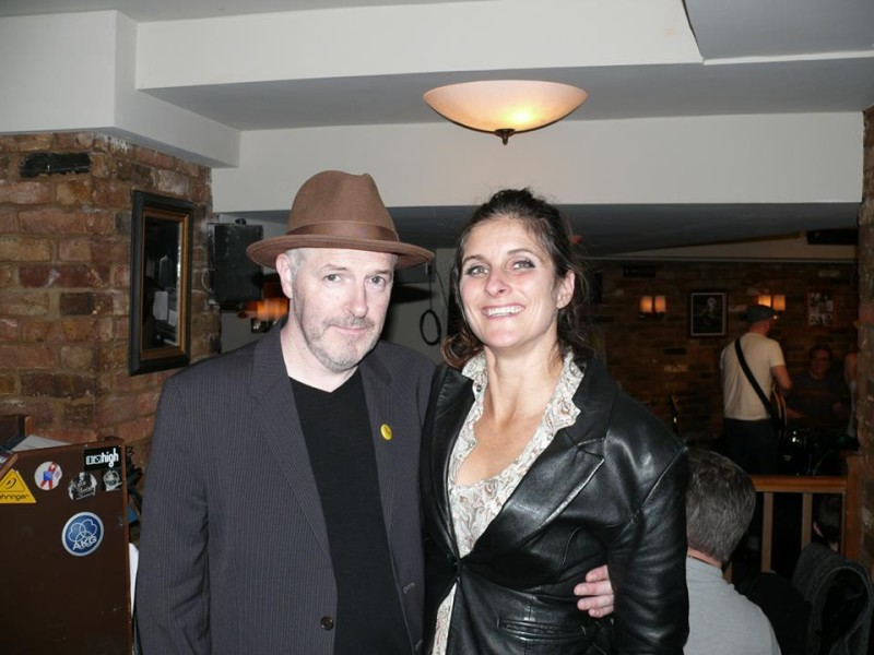 Mr Drew Morrison himself at CSS launch, The Spice of Life - Soho